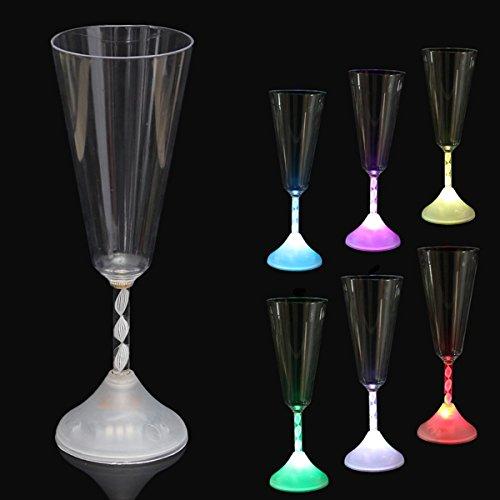 Bluelover Led Colores Vino Vidrio Copa Luz Resplandor Copa Taza Partid