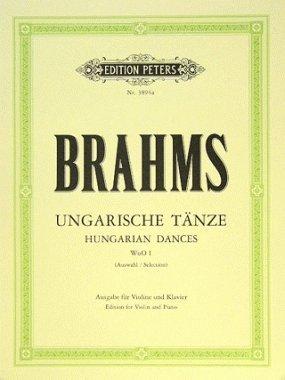 Danses Hongroises N° 1 à 12, Klengel : Violon et piano par Brahms