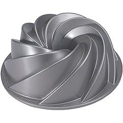 Nordicware Heritage Bundt 80637 - Molde para repostería de aluminio, capacidad para 2 litros