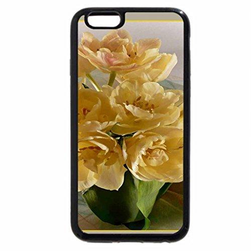 iPhone 3S/iPhone 6Coque (Noir) un souffle de printemps