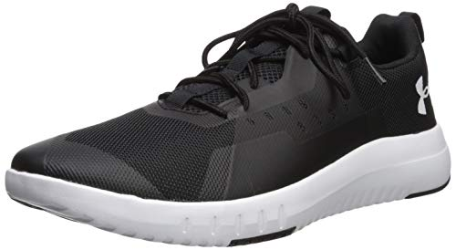 Under Armour Tr96, Scarpe Sportive Indoor Uomo, Nero (Black White 002), 42 EU