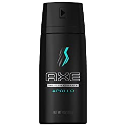 AXE Apollo Body Spray for Men, 4 Oz