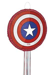 Capitán América Los Vengadores Piñata, Pull Cadena