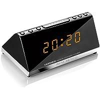 NAF NAF MORNING V2 - Radio réveil PLL 2 alarmes ultra compact.