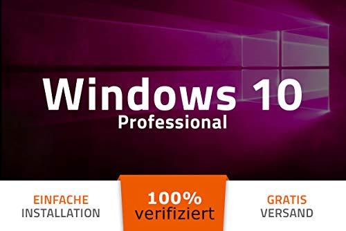 Microsoft® Windows 10 Professional PRO - 32/64Bit - Deutsch - 100% verifiziert deutsche Ware - USB-Stick von EXITOSOFT - bootfähig - für alle Geräte auch ohne CD/DVD Laufwerk