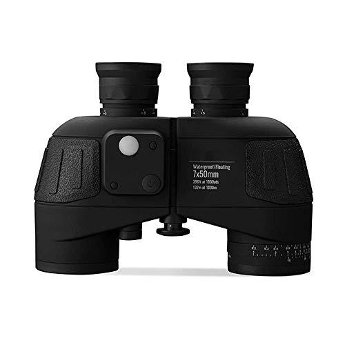 WYJ Binocolo 7 × 50, Telemetro ad Alta Definizione per Visione Notturna, Scheda di Differenziazione per Posizionamento Bussola