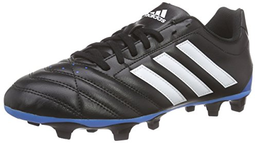 adidas Goletto V Fg Herren Fußballschuhe, Schwarz (Core Black/Ftwr White/Solar Blue), 48 EU