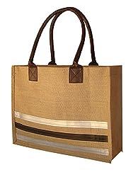 Foonty tote women stripes shopping bag(FJUWB6249)
