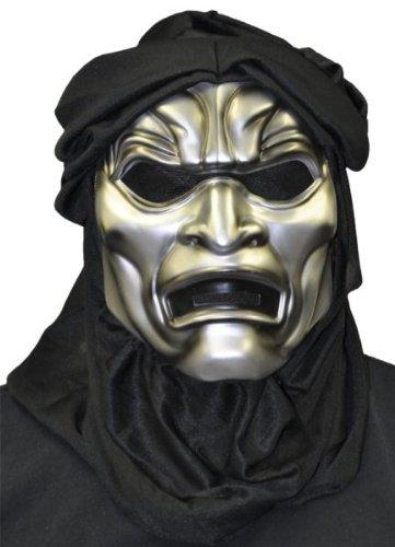 Immortal 300t Vacuform Maske Halloween Kostueme Maske Gesicht Maske Over-the-Head-Maske Kostuem Stuetze Scary Creepy Schreckliche Maske Latex Maske fuer Maskerade Make-up (Mask Immortal)