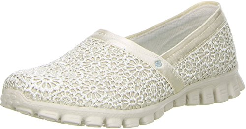 Skechers Ez Flex 2 - Make Believe, Mocassini Donna Natural