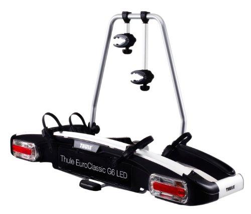 Thule 928000 Porte Velo Attache Remorque Euroclassic G6 LED 928, 2Bike