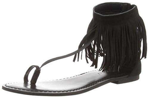 Vero Moda Vmkate Leather Sandal, Tongs femme