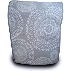 Housse de protection antitache pour Thermomix TM31 & TM5 Mandalas Gris