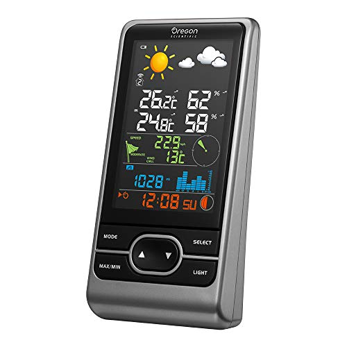 Oregon Scientific WMR86NSX Stazione Meteo Professionale con Display a Colori, Grigio