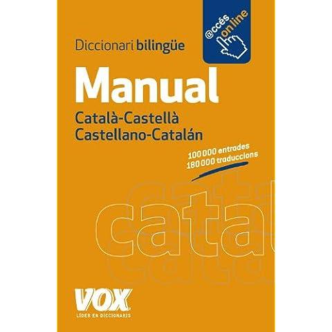Diccionari Manual Català-Castellà / Castellano-Catalán (Vox - Lengua Catalana - Diccionarios