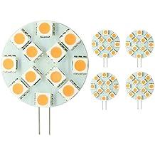 LIGHTEU, 2016 Nuovo. 5x G4 LED 3W, 250Lumen. , unidirezionale