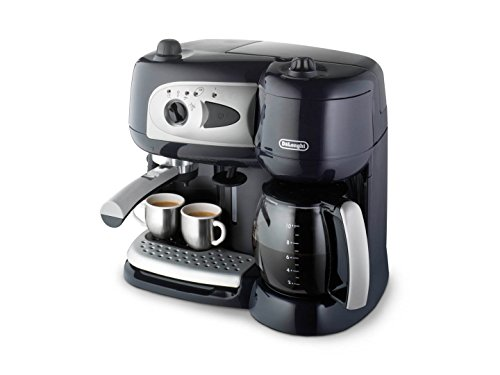 DeLonghi BCO 260.CD.1 Independiente Manual - Cafetera Independiente, Cafetera combinada, 2,6 L, Dosis...