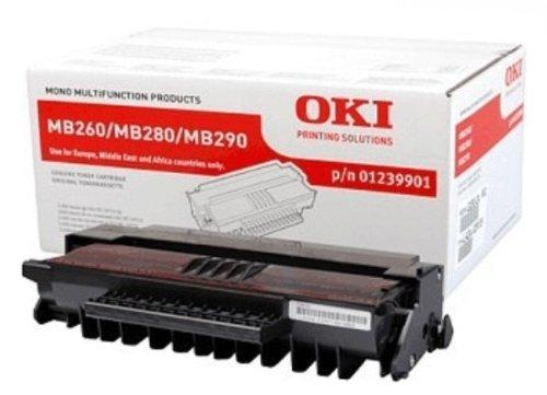 Preisvergleich Produktbild OKI 1239901 MB260, 280, 290 Tonerkartusche 3.000 Seiten, schwarz