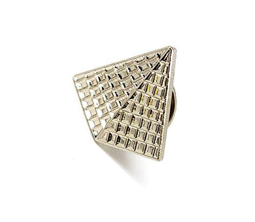 Pyramide von Gizeh Ägypten Ägyptische Cheops Cheops (Weltraumteleskop) Metall Emaille Brosche | Hohe Qualität Metall Emaille Pin Badge Revers Brosche Neuheit zum Sammeln Geschenk Schmuck für Kleidung Shirt Jacken Mäntel Krawatte Hüte Kappen Taschen Rucksäcke