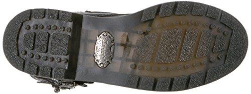 Demonia DEFIANT-302 Blk Vegan Leather