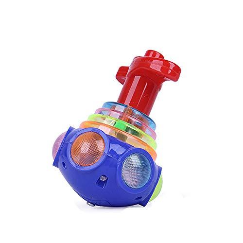 LUCOG Drôle LED allume jouet minuscule Fidget Spinner Stress Relief cadeau Gyroscop Toy Dégagement Vente