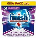 Finish Quantum Max 80Regular Gr.1240Tabs Pastillas Lavavajillas Detergente