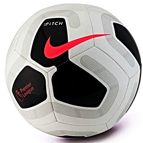 Nike Pitch Premier League 2019-2020 - Balón de fútbol, Color Blanco y Negro, Talla 5