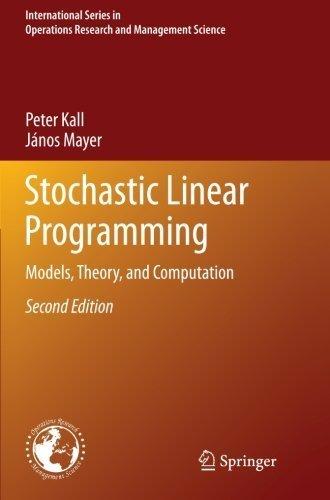 Linear Programming Book Pdf