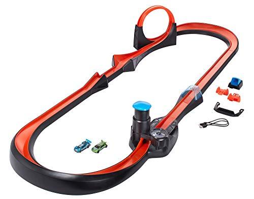 Hot Wheels iD GFP20 - Smart Track Kit mit Race Portal und 16 Track Teilen sowie zwei exklusiven Fahrzeugen mit NFC-Chip zum Scannen in der Hot Wheels iD App, Auto Spielzeug ab 8 Jahren