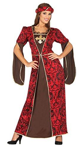 Kurtisane Für Kostüm Erwachsenen - Fiestas Guirca Kostüm Kurtisane Renaissance Hosdame