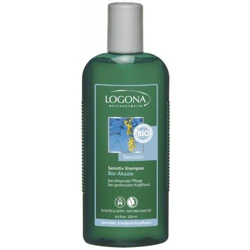 Logona - Shampoo sensibile con acacia, 250 ml