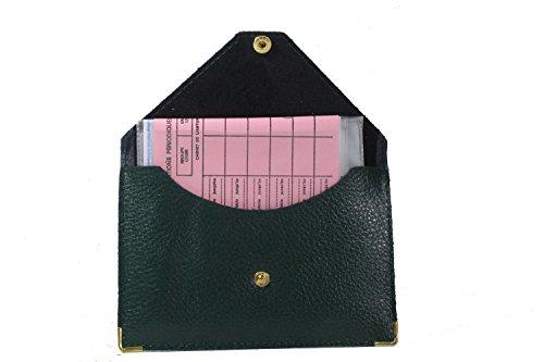 Lilosac® - Porte papier voiture en cuir - format enveloppe - étui carte grise, permis, carte d'identité, cartes, très complet, cuir souple pour homme ou femme