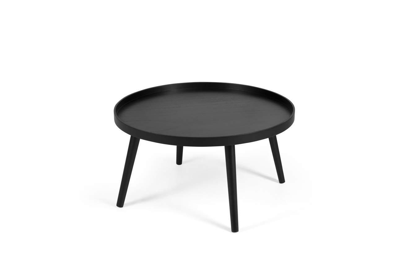 Lifa Living Table Basse Noire Pour Salon Moderne Table Basse