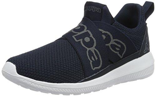 Kappa Faster Ii, Sneakers Basses Mixte Adulte Bleu (Navy/grey)