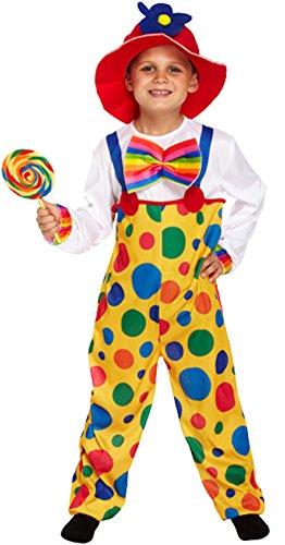 Kinder gepunkteter Clown Alter 10-12