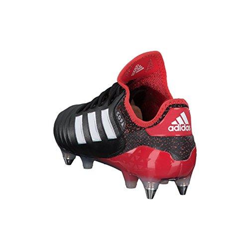 adidas Herren Copa 18.1 SG Fußballschuhe Schwarz (Core Black/Footwear White/Real Coral)