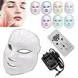 NBD 7Color LED máscara Light Therapy LED máscara Photon con, Beaut Facial el cuidado de rajeunissement de la piel fototerapia Tratamiento máscara