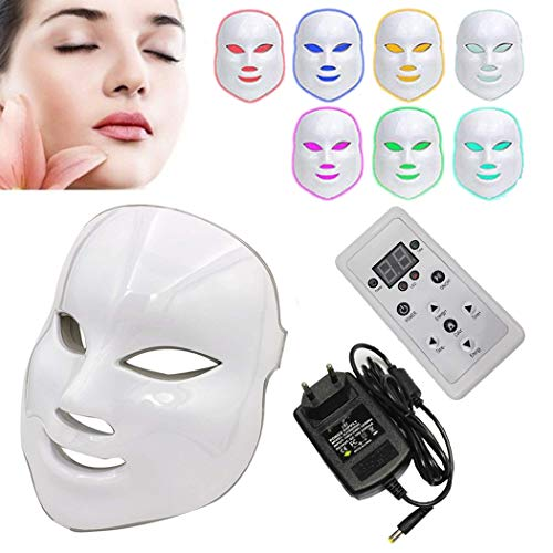 NBD® 7 Color LED máscara Light Therapy LED máscara