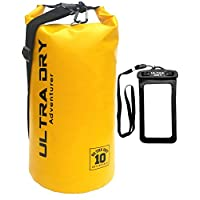 Premium Waterproof Bag, Sack with phone dry bag and long adjustable Shoulder Strap Included, Perfect for Kayaking/Boating/Canoeing/Fishing/Rafting/Swimming/Camping/Snowboarding 30
