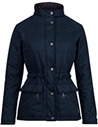 Jack Murphy Womens/Ladies Pam Vintage Wax-Look Cozy Country Jacket