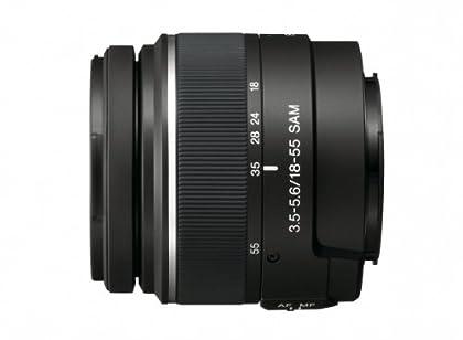 Sony SAL1855 - Lente de cámara digital con montura tipo A, DT 18-55 mm, F3.5-5.6 SAM