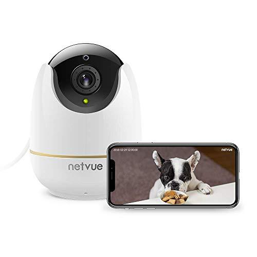 Caméra Surveillance WiFi Interieur, Netvue Full...