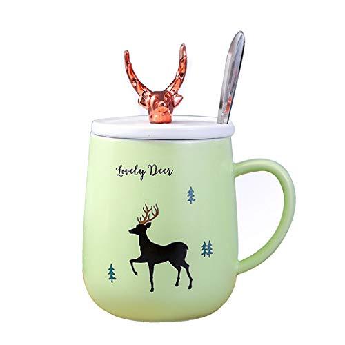 Cups elegant_RG Tasse à thé en Porcelaine pour café, Tasse