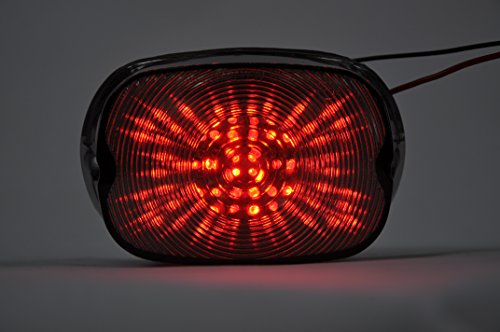 Sequentiell rauchgrau lens MOTORRAD LED-Rücklichter Rücklicht mit integrierten Blinker Lampe Indikatoren für Harley-Davidson Electra Glide,Fatboy,Ultra Limited,Road Glide,Road King,Softail,Sportster 1200,883,Street Glide -
