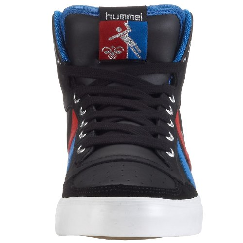 hummel STADIL HIGH 63-066-2640, Baskets mode mixte adulte Noir / Bleu