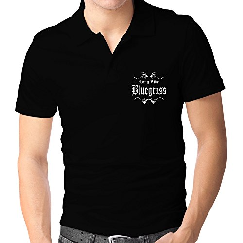 Teeburon Long Live Bluegrass Polo-Hemd