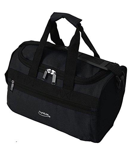 super-lightweight-ryanair-second-cabin-travel-holdall-stowaway-bag-35x20x20cm-black
