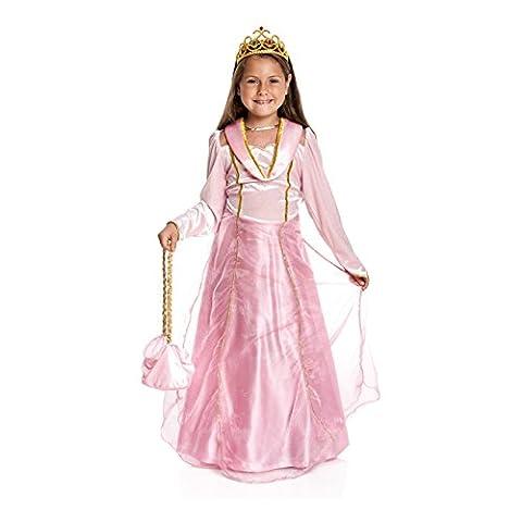 Kostümplanet® Prinzessin-Kostüm Mädchen rosa Krone Prinzessinen-kostüm Kind Kinder-Kostüm Größe (Karnevals-kostüm-ideen Für Mädchen)