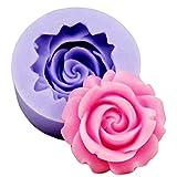 Demarkt Blumen Silikon Form 3D Blumen DIY Silikonform Blume Kuchen Muffins Seife Kekse Schokolade Eiswürfel 3D Mould Backen und Basteln