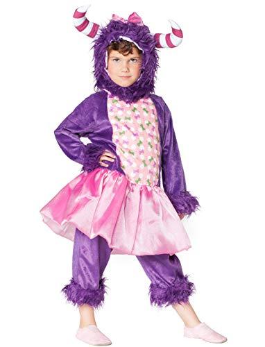 Deiters Monster Kostüm - Deiters Monster Kinder lila 3-TLG.